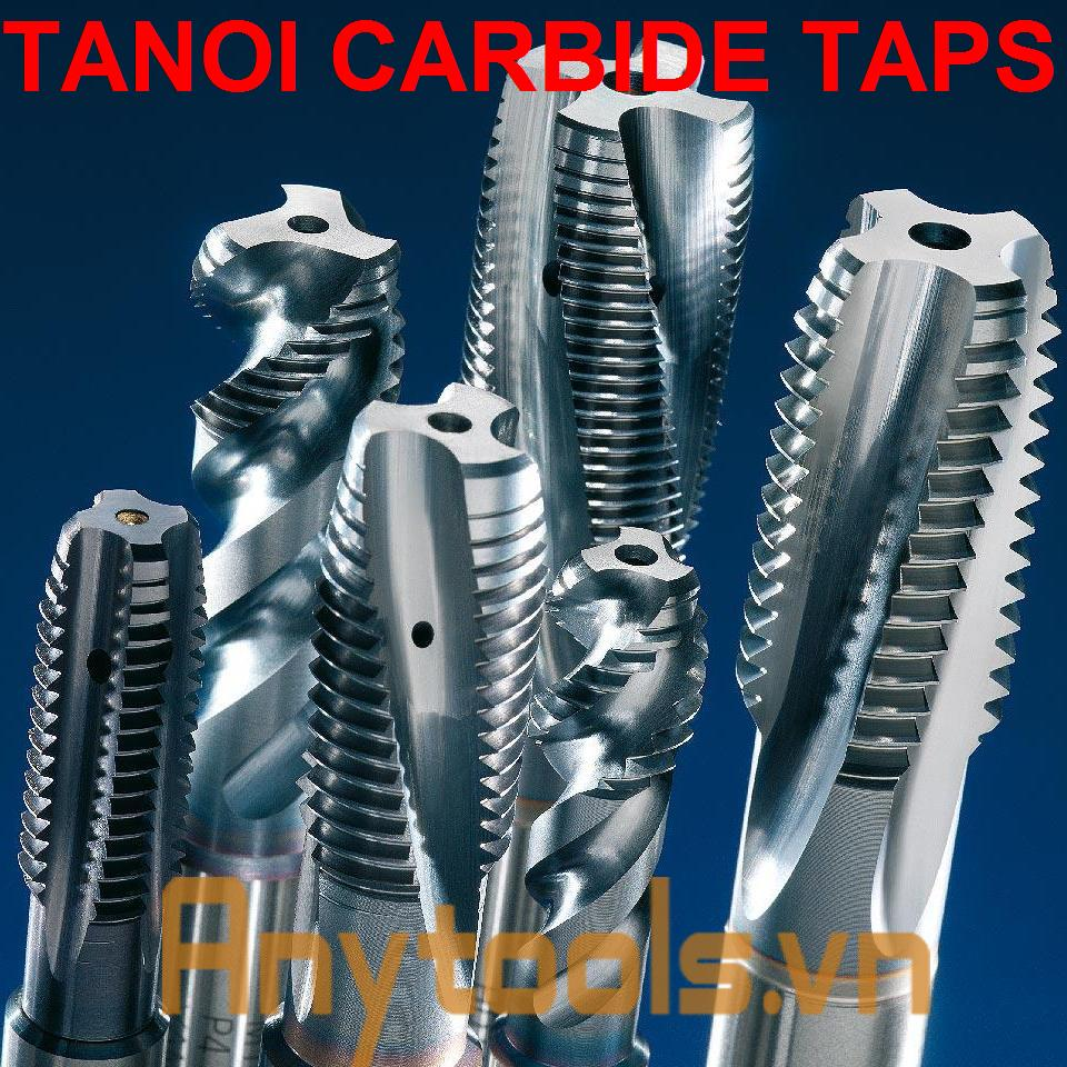 Carbide taps TANOI